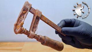Screw Clamp Restoration [Nickel Plating, Welding, Powder Coating And More]
