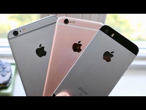 RIP iPhone SE, iPhone 6S & 6S Plus