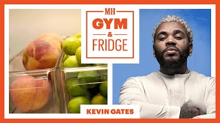 Kevin Gates Shows His Home Gym & Fridge | Gym & Fridge | Men's Health