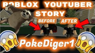 ROBLOX Youtuber Story -Protagonizada por PokeDiger1- Poke