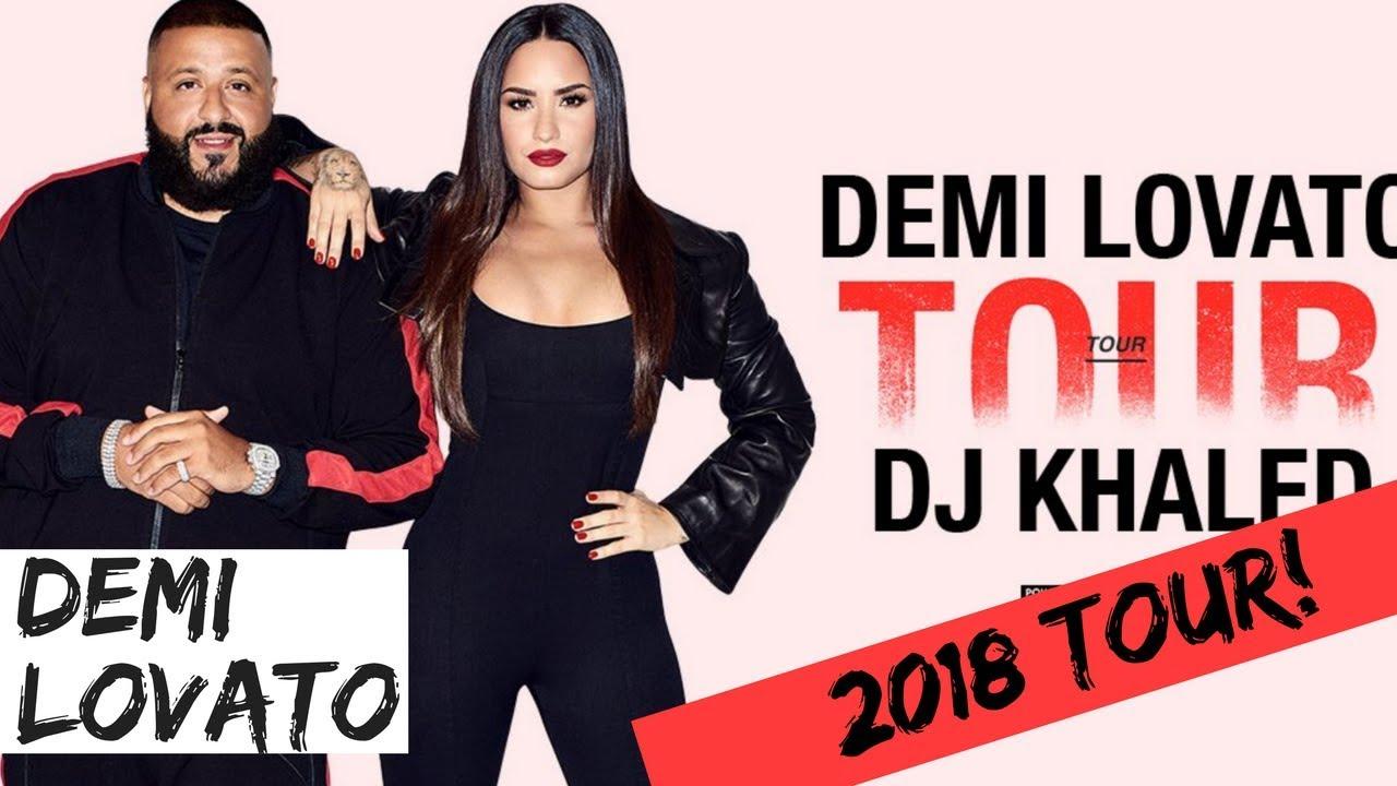 Demi Lovato Announces Her Eight Tour