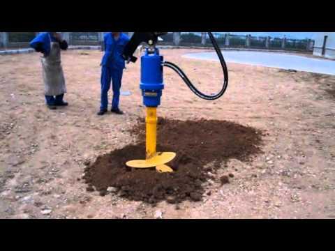 drilling in testing zone