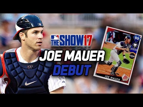 99 JOE MAUER DEBUT! Best Catcher in the Game? | MLB The Show 17 Diamond Dynasty Ranked Seasons