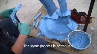 How to Make a Silicone Rubber Mold #108