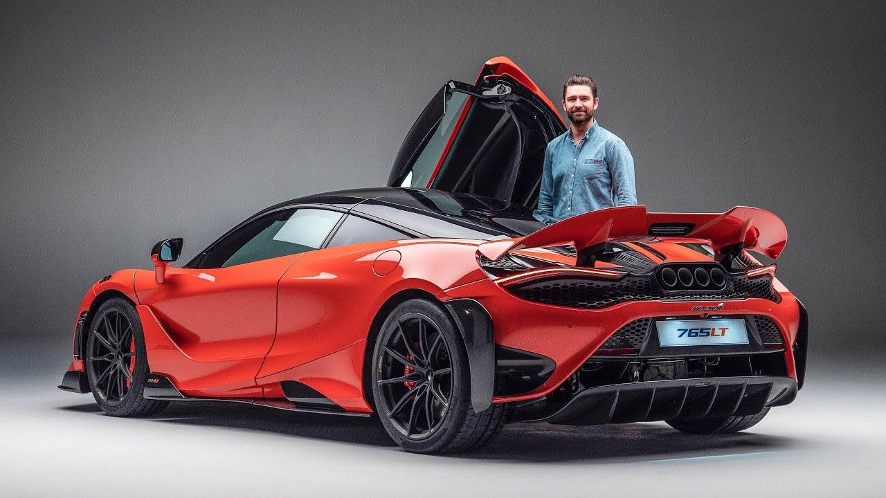 NEW McLaren 765LT - FIRST LOOK & Exhaust Sound!