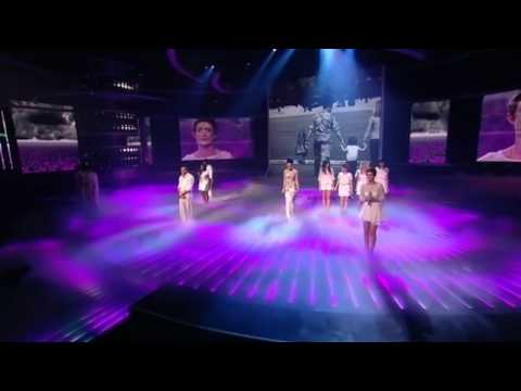 X Factor Finalists perform Heroes - The X Factor Live results 7 (Full Version)