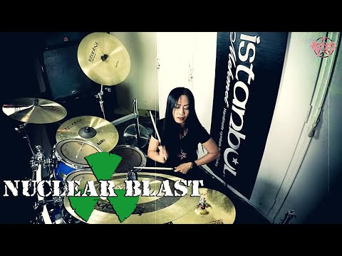 BURNING WITCHES - Wings Of Steel (OFFICIAL DRUM THROUGH)