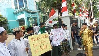 Koalisi Santri Demo Desak Ma'ruf Amin Mundur dari Jabatan Ketua MUI