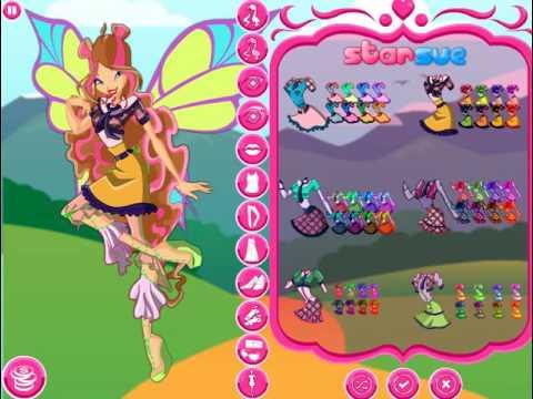 Игры Винкс.  - Игры для девочек онлайн. Игры