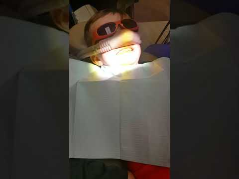 Space gas at the dentist.