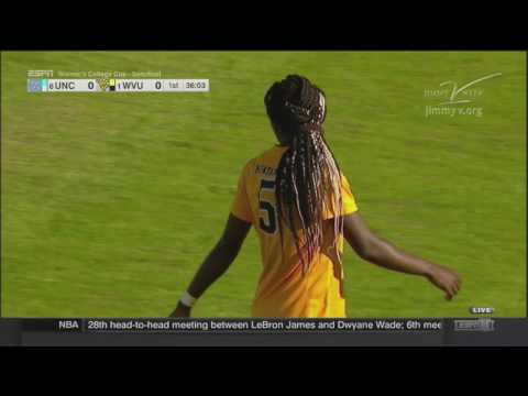NCAAWS 2016 College Cup Semifinal North Carolina vs West Virginia 720p60