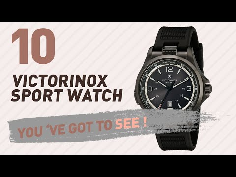 Victorinox Sport Watch For Men // New & Popular 2017