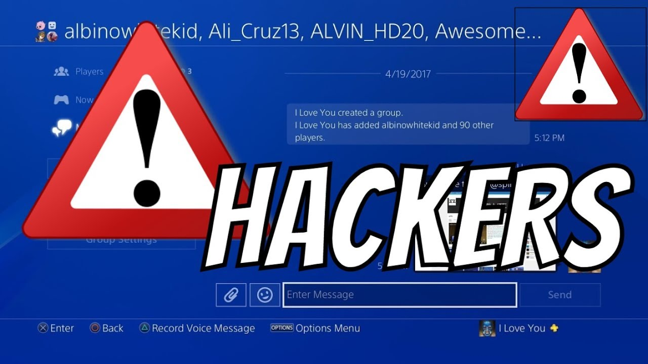 How to fix PlayStation 4 message hack | AllGamers
