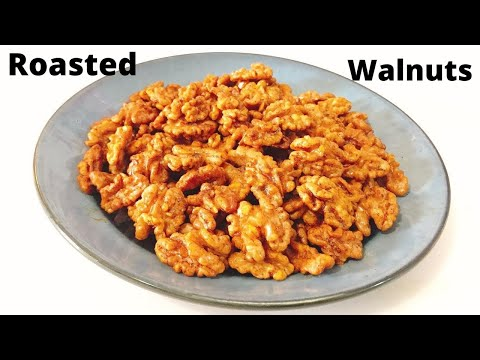 Roasted Walnut Recipe || Masala Walnut Recipe | Healthy Walnuts