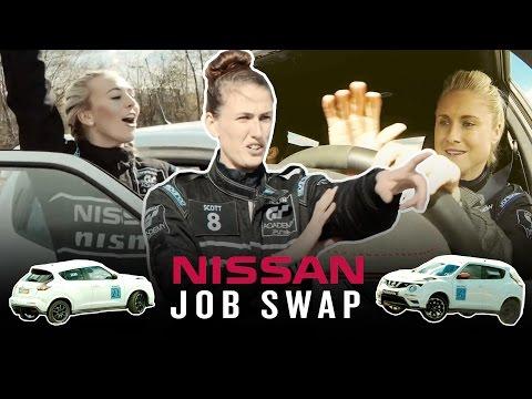 CITY WOMENS TEAM BECOME RACING DRIVERS! | Nissan Dream Job Swap