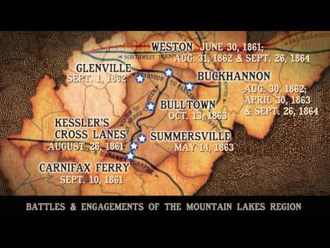 Mountain Lakes Battle Map