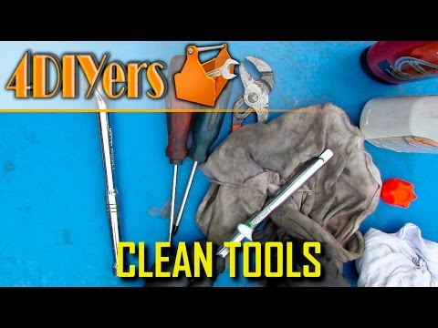 DIY: How to Properly Clean Tools