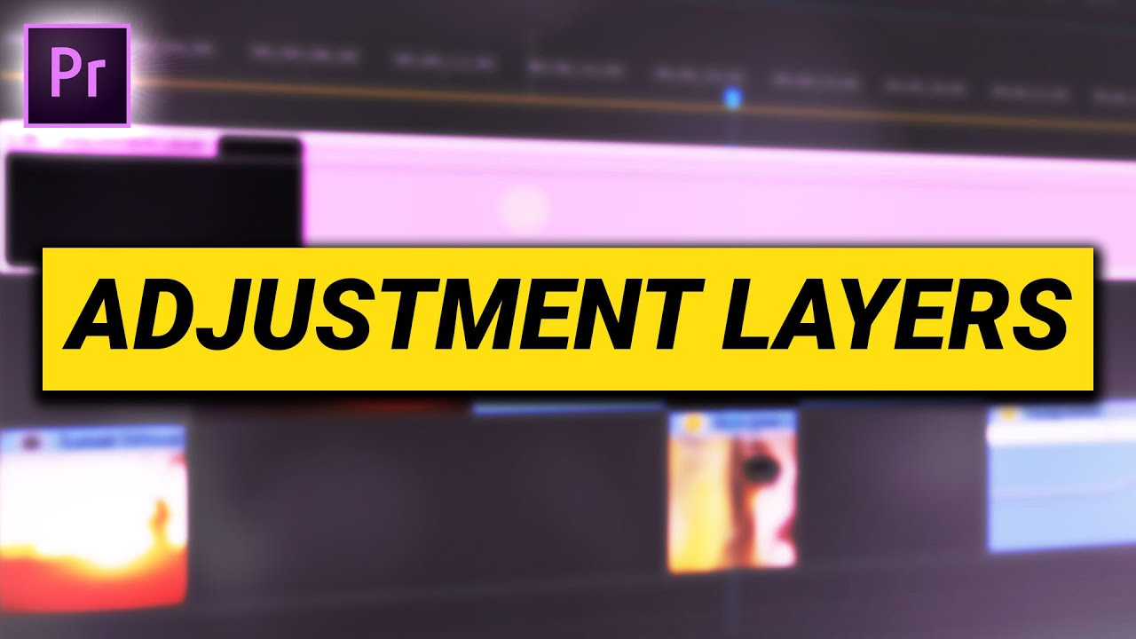 How to use ADJUSTMENT LAYERS (Premiere Pro Tutorial)