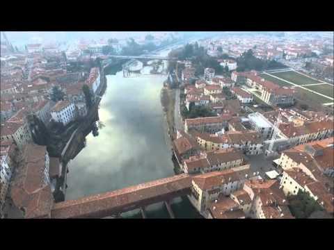 Bassano Del Grappa Con Drone