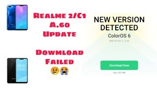 Realme C1 New Color Os 6 Android 9 Pie Software Update