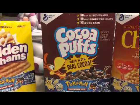 More Pokémon Cereal (Cereal with Pokemon Cards)
