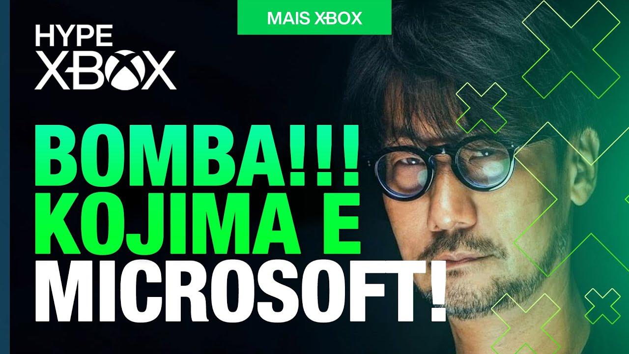VISHHH! EXCLUSIVO de HIDEO KOJIMA para o XBOX REALMENTE pode EXISTIR! [HYPE XBOX]