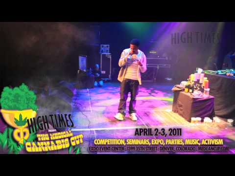 Curren$y @ the 23rd HIGH TIMES Cannabis Cup