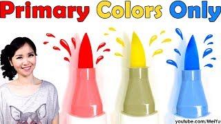 Primary Color Challenge   RYB Art Illustration - Red Yellow Blue Fantasy Art   Mei Yu Fun2draw