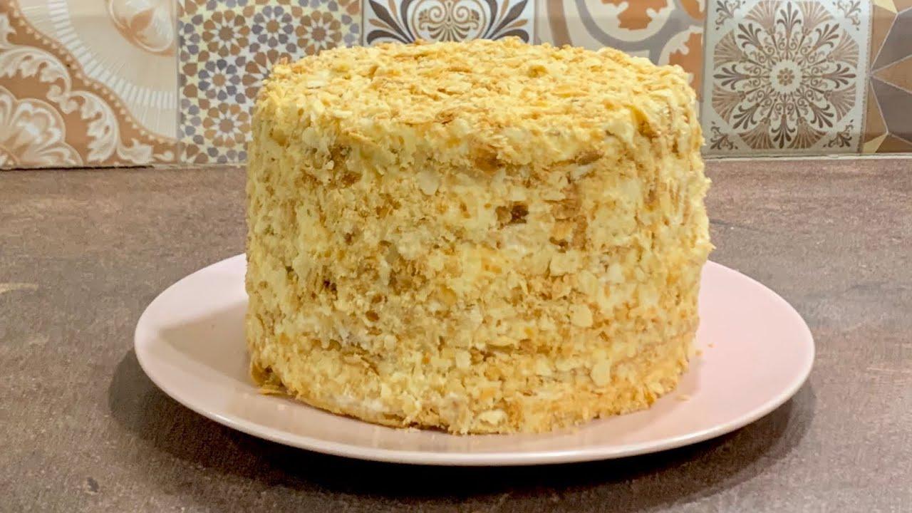 Торта Наполеон - цялата рецепта стъпка по стъпка, с най- нежен крем, крехки многолистни блатове