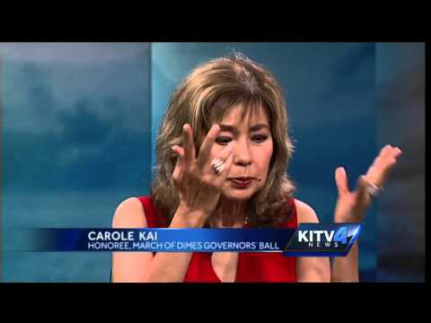 Carole Kai stops by to talk about the March of Dimes