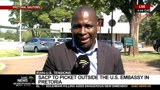 SACP to picket outside US Embassy in Pretoria