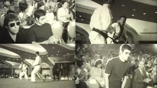 Редкое видео Брюс Ли на Чемпионате по каратэ 1970