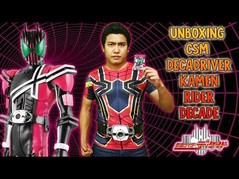 Unboxing Complete Selection Modification (CSM) Decadriver - Kamen Rider Decade from Samurai Buyer