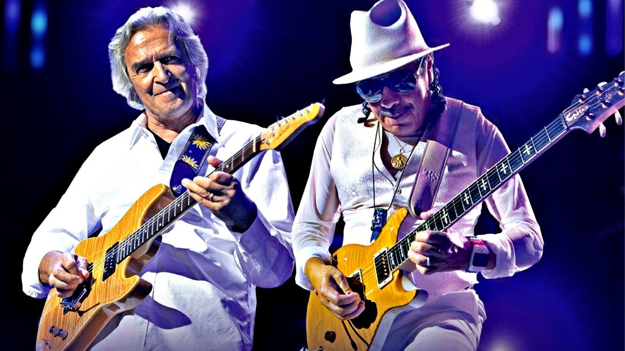 Resultado de imagen de Carlos Santana with John McLaughlin - Live in Switzerland 2016 [HD, Full Concert]