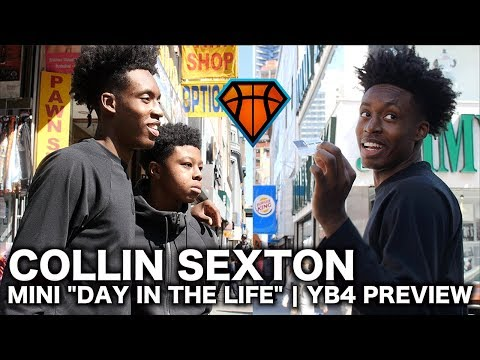 """Collin Sexton Mini """"Day In The Life"""" in Brooklyn Before JBC 