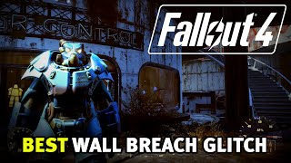Fallout 4 - Best Wall Breach Glitch! Easy Quantum X-01 Power Armor! (After Patch 1.7/1.10)