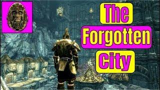 THE BEST SKYRIM SE MOD! Skyrim Special Edition The Forgotten City Mod   Skyrim Xbox One X Mods