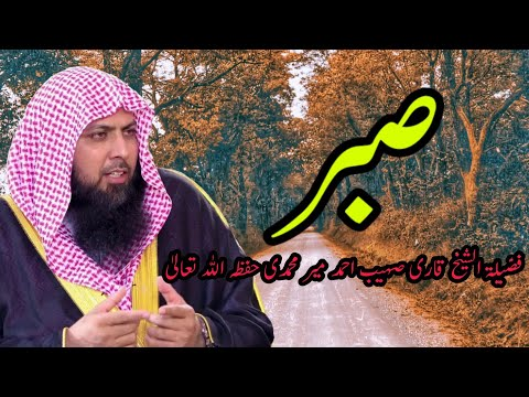 Sberr Ki Fazeelat ?   Qari Sohaib Ahmed Meer Muhammadi