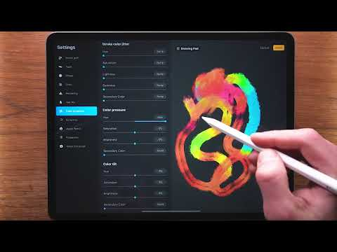Procreate 5 Brush Studio!... WOW, What A Change!
