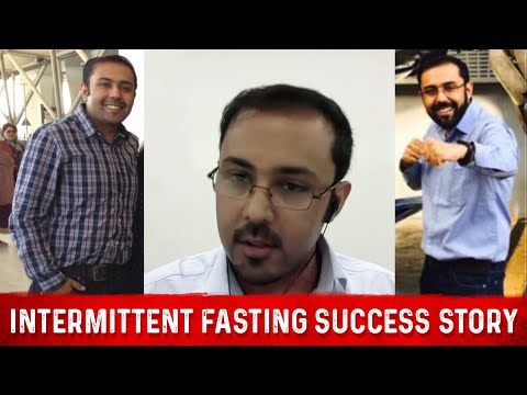 Intermittent Fasting and Ketosis Before & After Success Story (Akshat Paul)