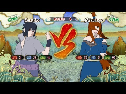 Naruto Shippuden: Ultimate Ninja Storm 3, Sasuke Uchiha VS Mei Terumi (Mizukage)