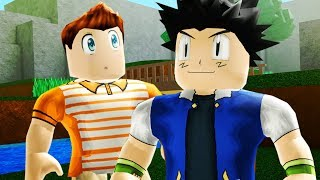 Roblox Pokemon Legend of Space-ASH KETCHUM-Episódio 3 (Roblox roleplay)