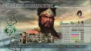 Dynasty warriors 6 the Quest for Lu Bu