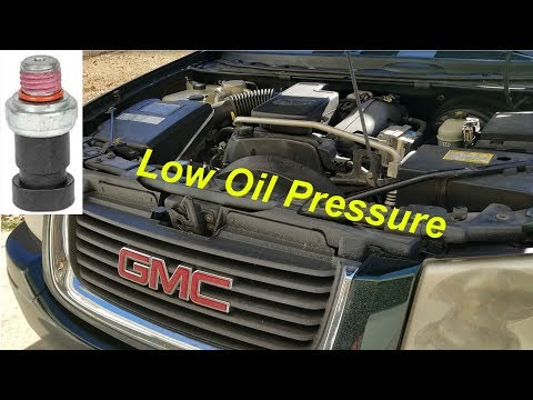 2008 Chevy Colorado P0017 Stalling, LOW DIRTY OIL? CHANGE IT