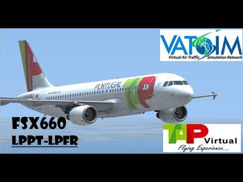 [FSX]Vatsim Full Flight - Lisbon to Faro - TAP Virtual a320
