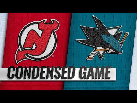 12/10/18 Condensed Game: Devils @ Sharks