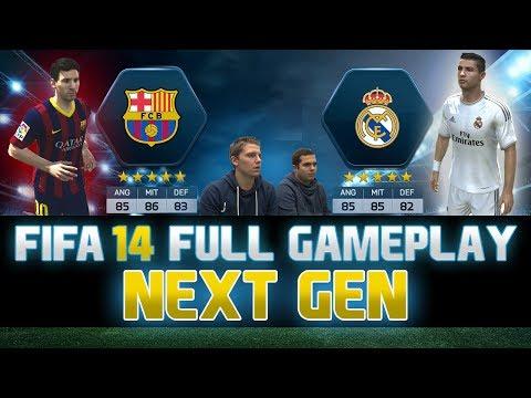 Fifa 14 | FULL Next Gen Gameplay | Barcelona vs. Real Madrid - El Clasico | by PatrickHDxGaming
