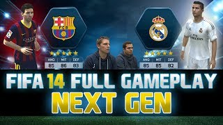 Fifa 14 | FULL Next Gen Gameplay | Barcelona vs. Real Madrid - El Clasico | by PatrickHDxGaming
