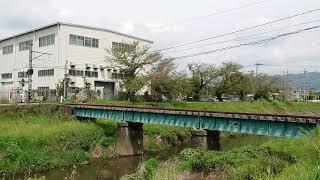 2020/4/21    JR東日本  キヤ195系  甲種輸送①  佐奈川鉄橋通過