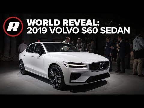 World Reveal: US-born 2019 Volvo S60 Sedan